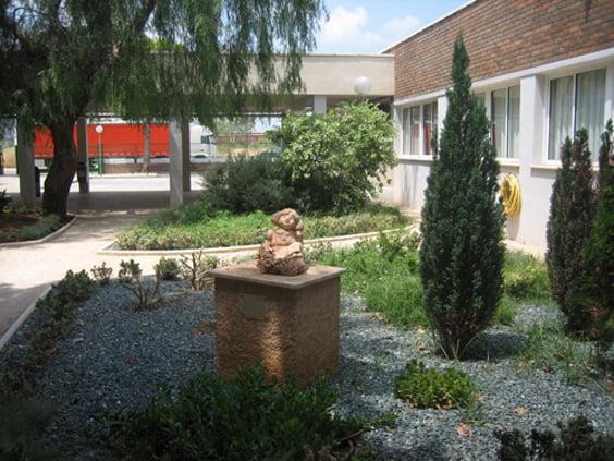 Jardín del colegio Montgó