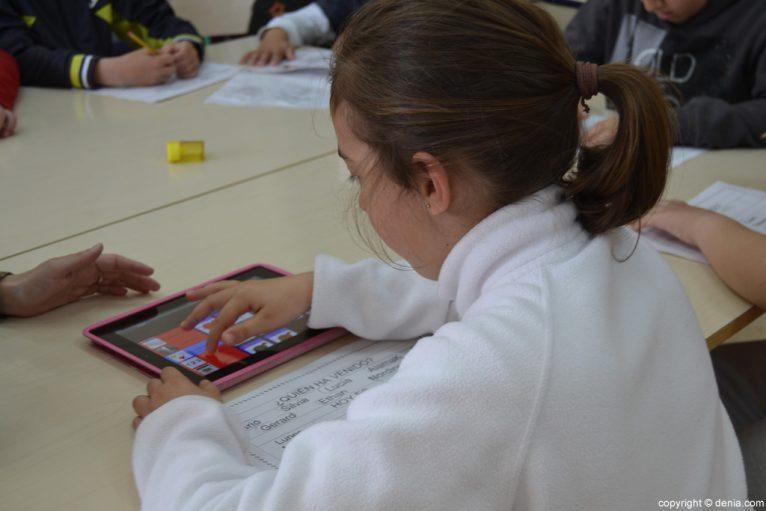 Nuevas tecnologías en el colegio Raquel Payà de Dénia