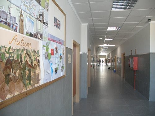 Secondary school hall Sacred Heart of Dénia