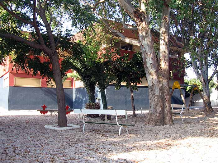Patio de Primaria del Colegio Paidos