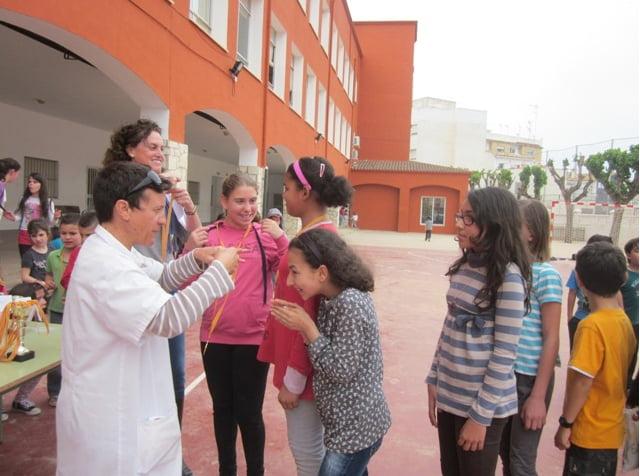 Patio del colegio Cervantes