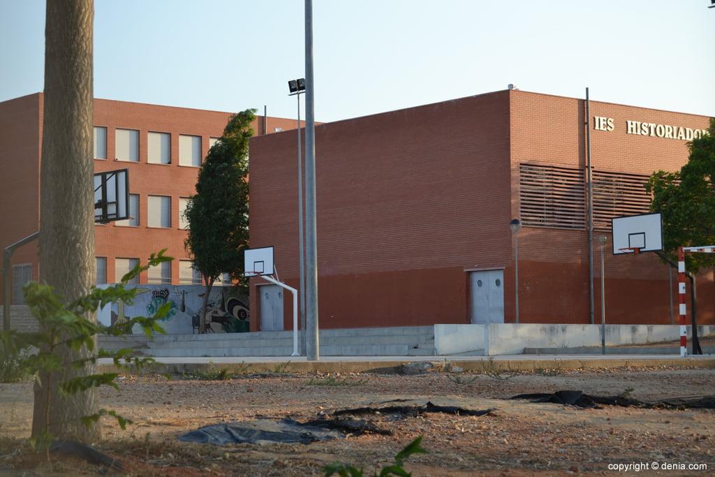 Patio del instituto Chabàs de Dénia