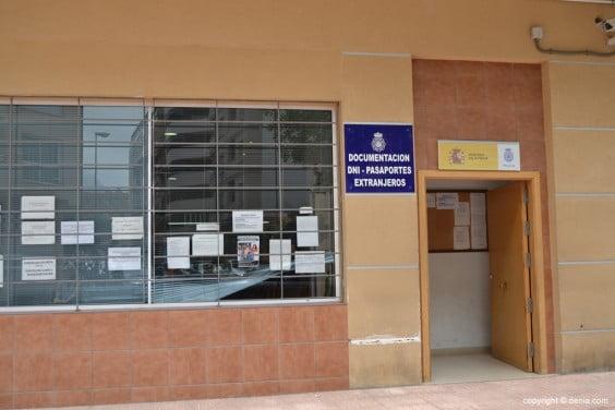 Policía Nacional Dénia - Expedición de DNI y pasaporte