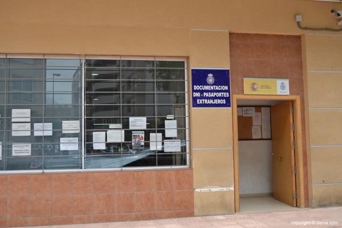 Policia Nacional Dénia - Expedició de DNI i passaport