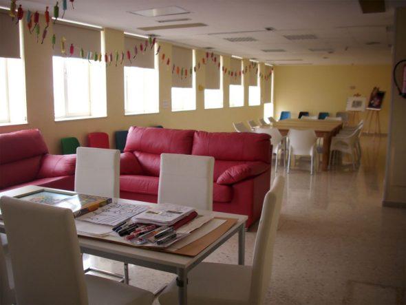 Sala de actividades Hospital la Pedrera