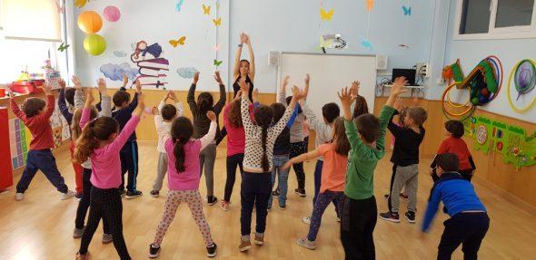 Imatge: Aula d'infantil en el col·legi Llebeig