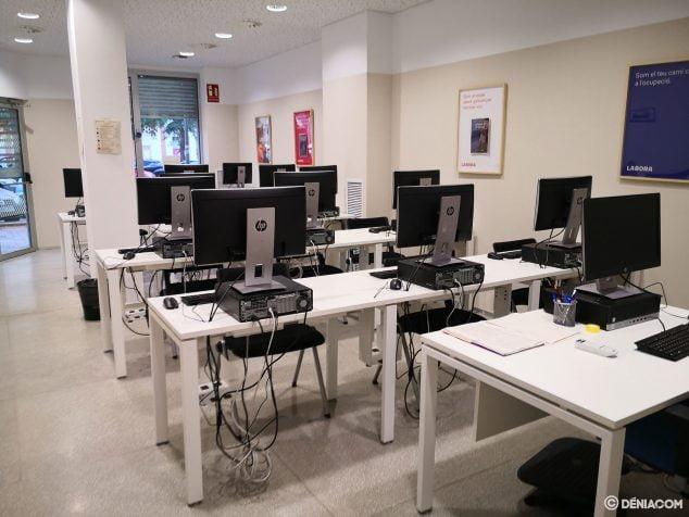 Image: Salle de formation à Espai Labora Dénia