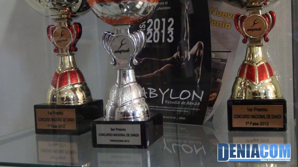 Prix remportés par l'École de danse Babylone Dénia