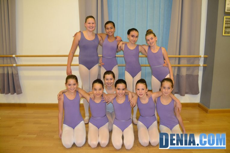 Alumnas de ballet en Babylon