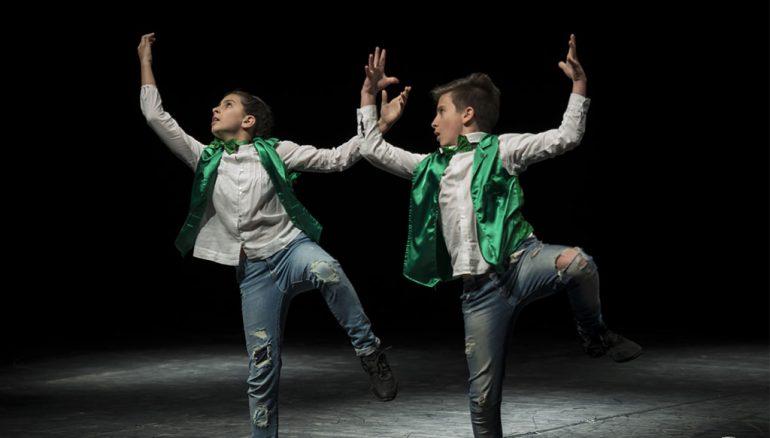 Actuación en una gala de Babylon Escuela de Danza