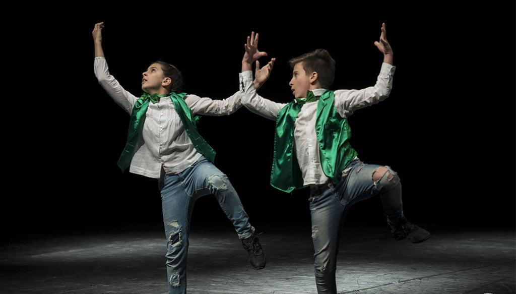 Performance lors d'un gala à la Babylon Escuela de Danza