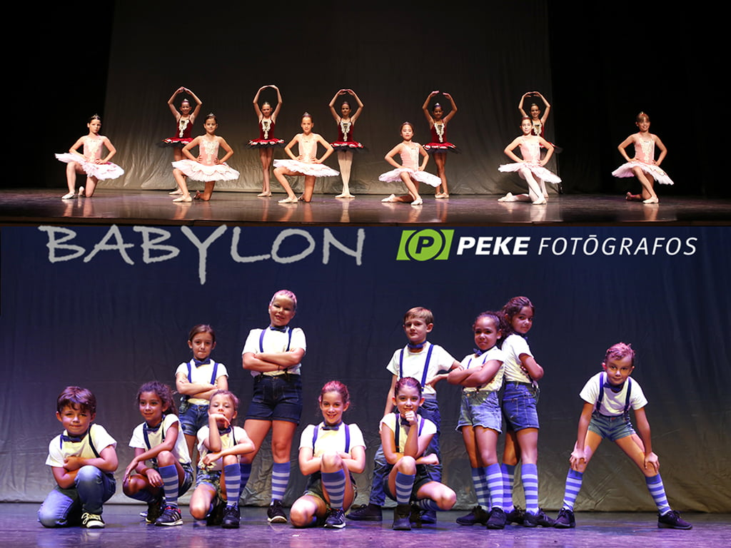Танцевальная группа Babyloon
