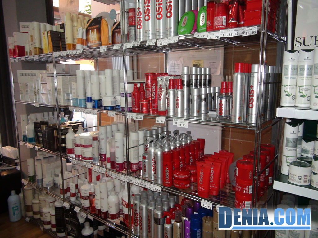 Sale of hairdressing and beauty products in Dénia - Doré