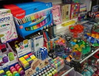 rotuladores y bolígrafos