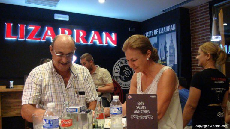 Clientes en Lizarran Dénia