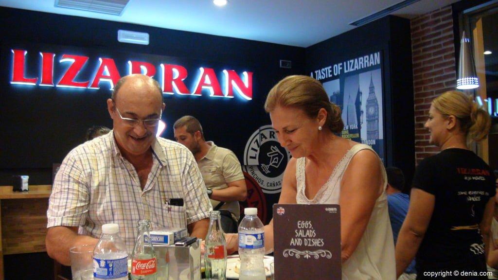 Clients en Lizarran Dénia
