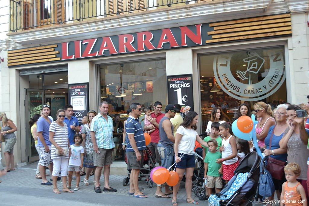 Festa d'inauguració del Lizarrán a Dénia