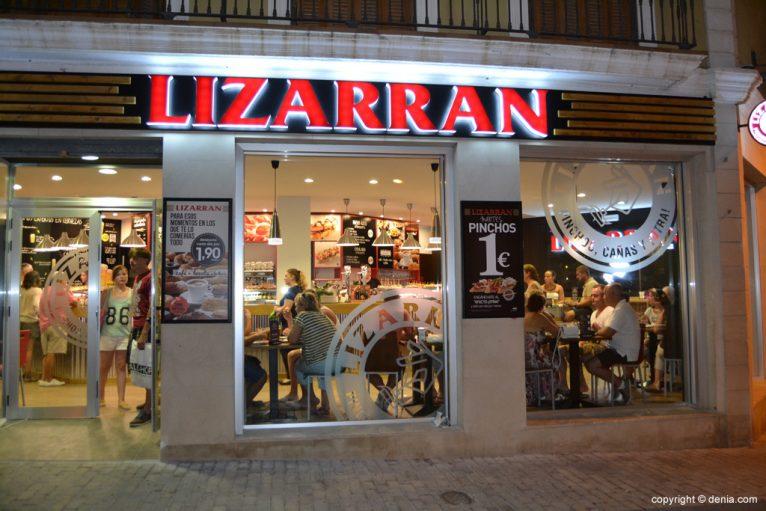 Lizarran Dénia en la calle La Mar