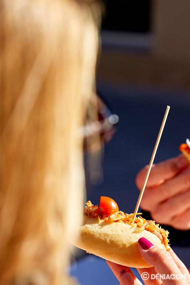 Almorzar en Dénia - Lizarran