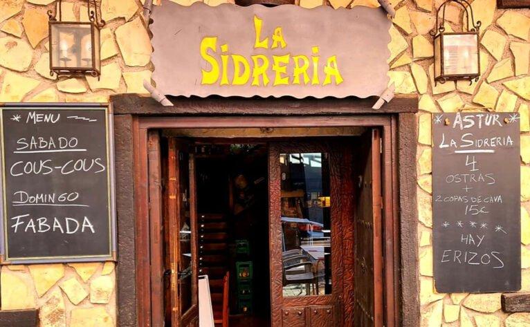 Entrada - La Sidrería