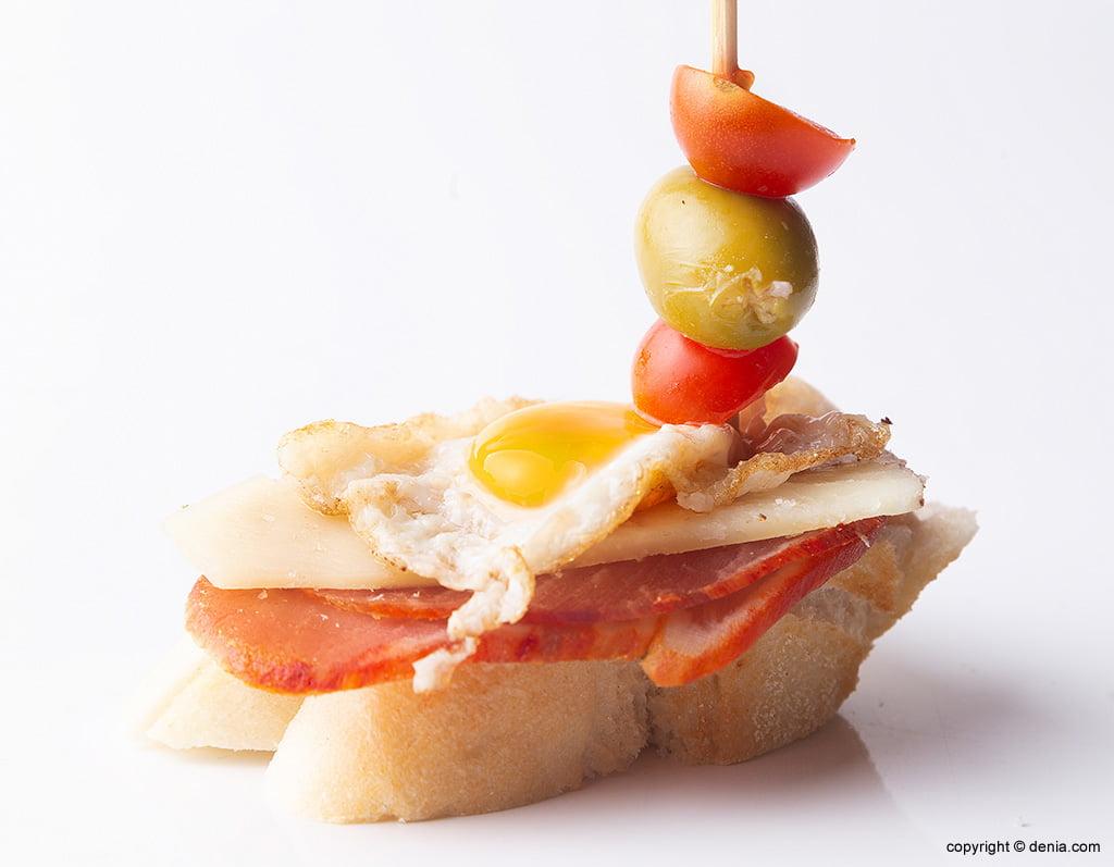 Lizarran punxa amb ou