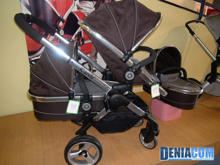 Carros per a dos fills a Babyshop Dénia