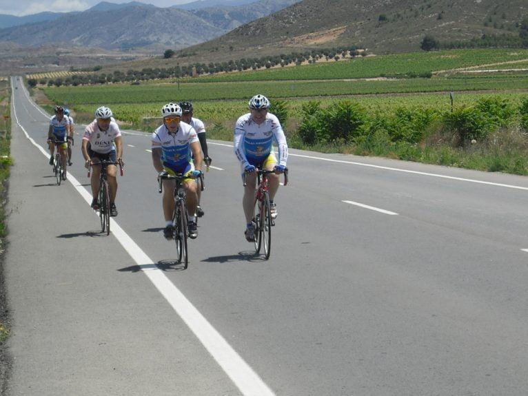 Marcha cicloturista a Bogarra 01