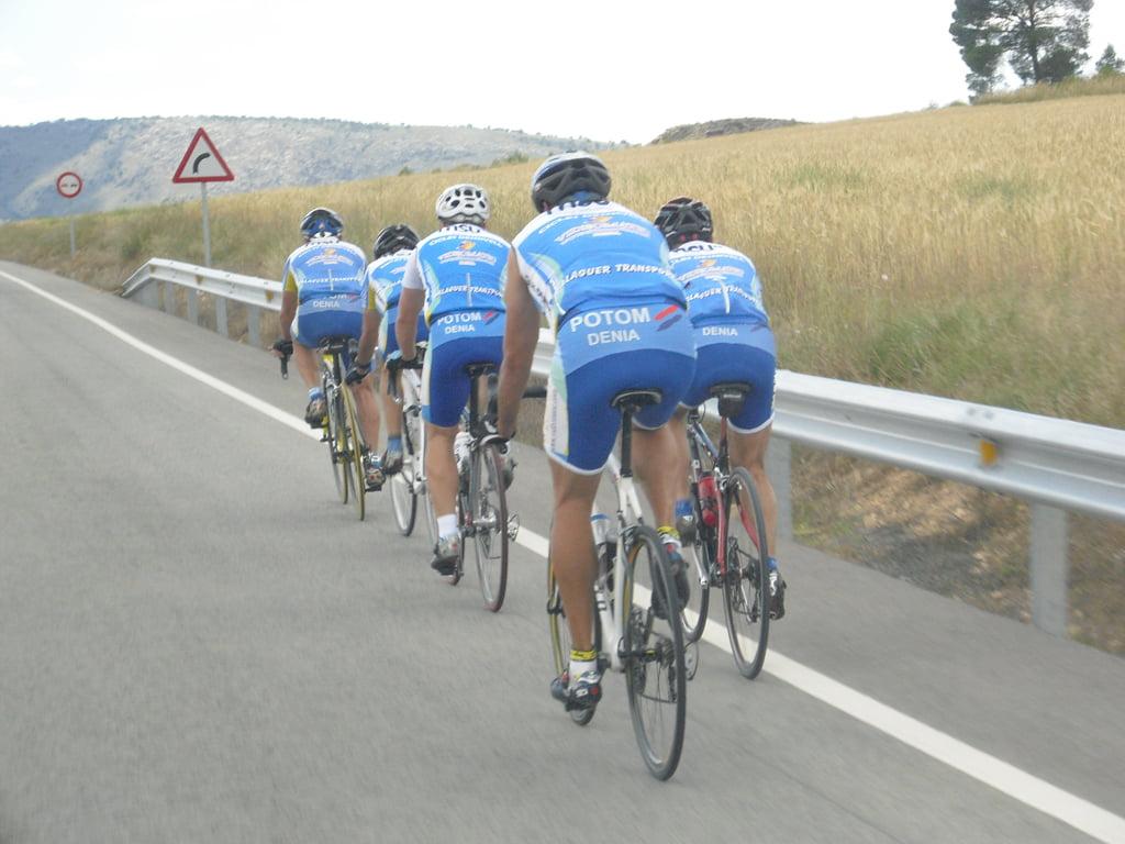 Marcha cicloturista a Bogarra 02
