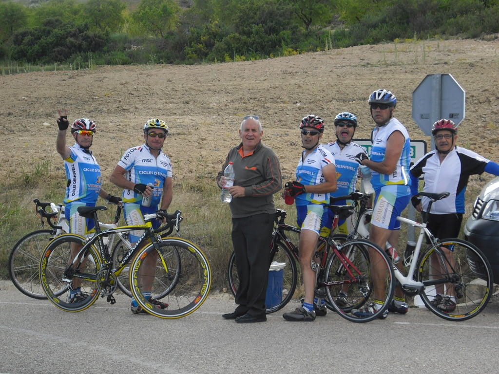 Marcha cicloturista a Bogarra 04