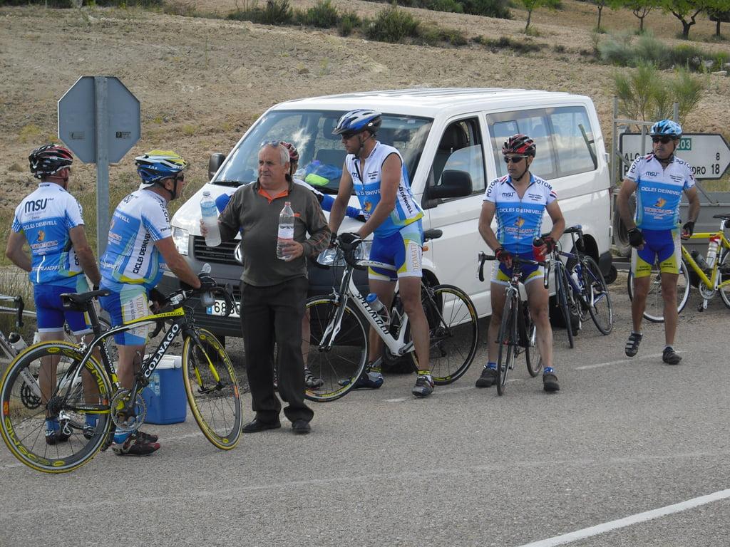 Marcha cicloturista a Bogarra 05