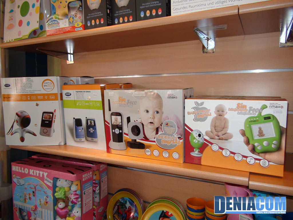Babyshop en Dénia ofrece electrónica para bebés