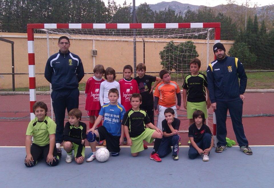 Benjamines de la em de f tbol sala al torneo de la for Federacion valenciana de futbol