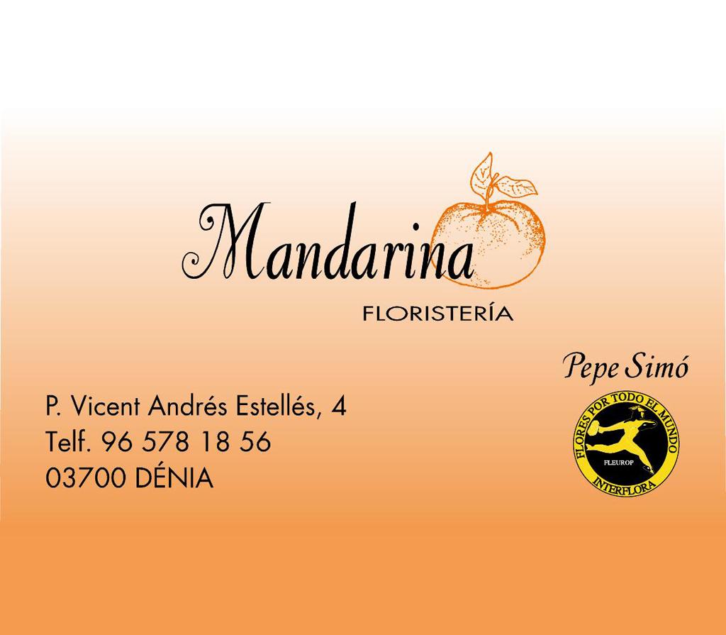 Mandarina florist? In Dénia