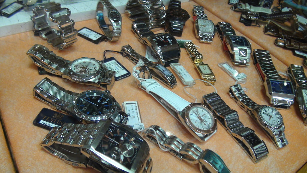 Rellotges en Joieria Bonilla