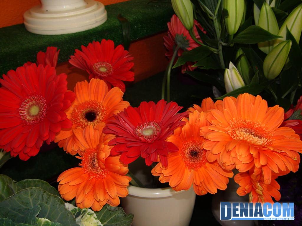 Conjunto floral Floristeria Mandarina