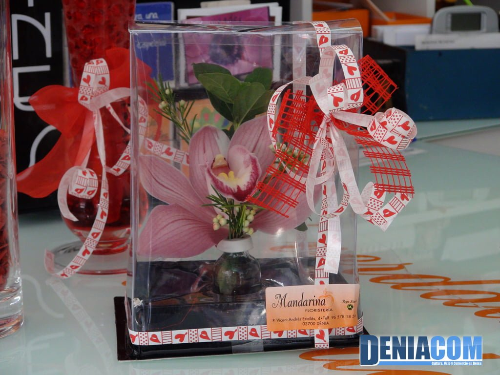 Detalle Floral decorativo de Floristeria Mandarina