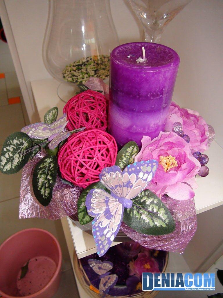 Detalle floral decorativo Denia – Floristeria Mandarina