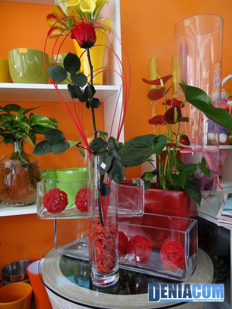 Detalle Floral preparado en Floristeria Mandarina