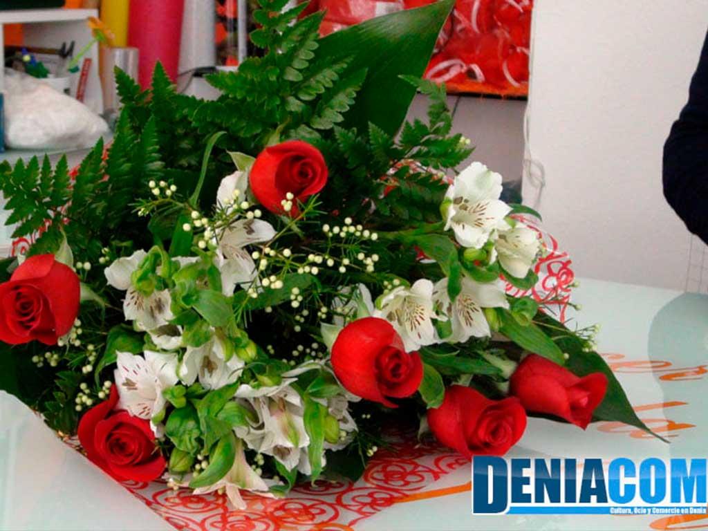 Ramos de rosas en Denia Floristeria Mandarina