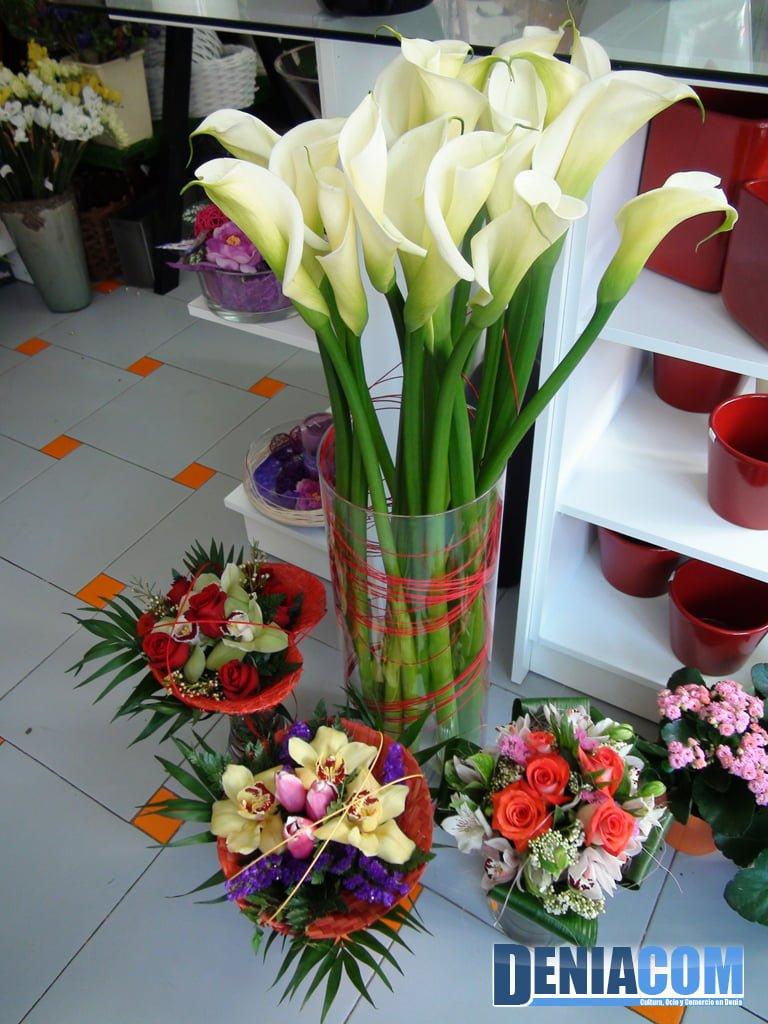 Rincon floral en Floristeria Mandarina