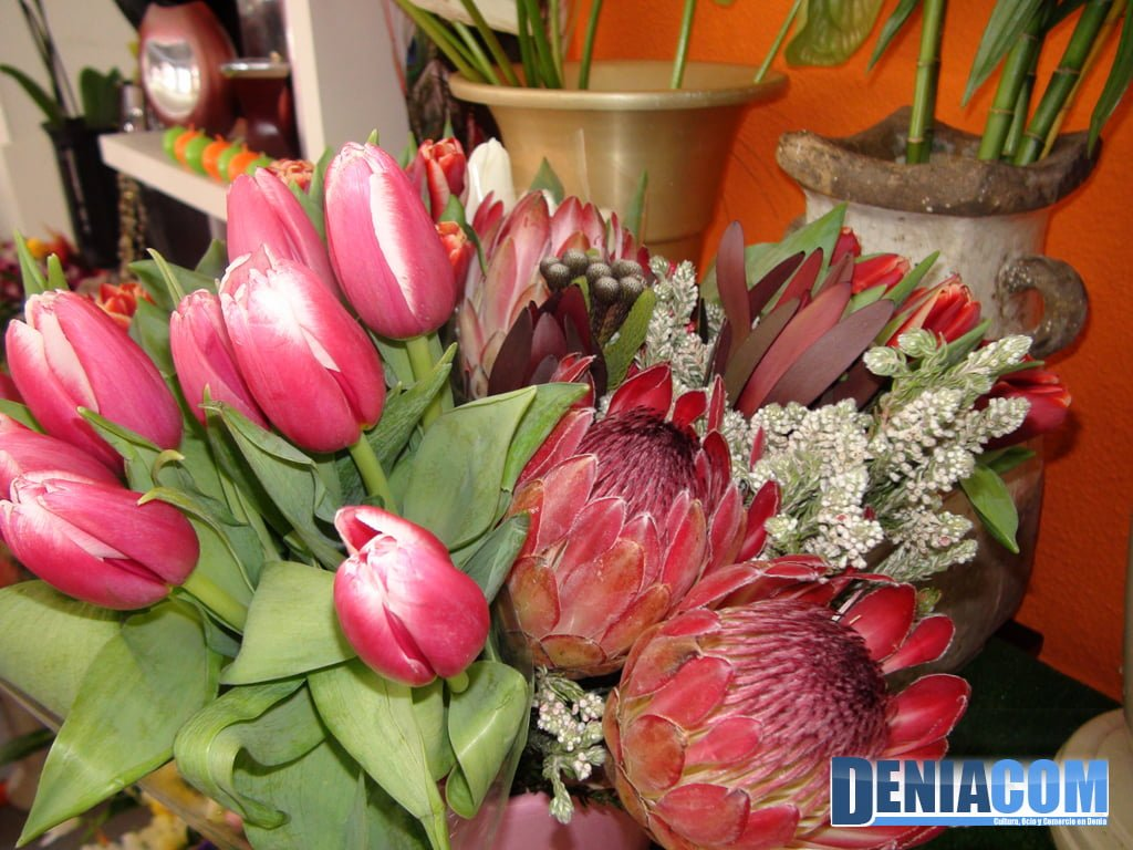 Tulipanes en Floristeria Mandarina