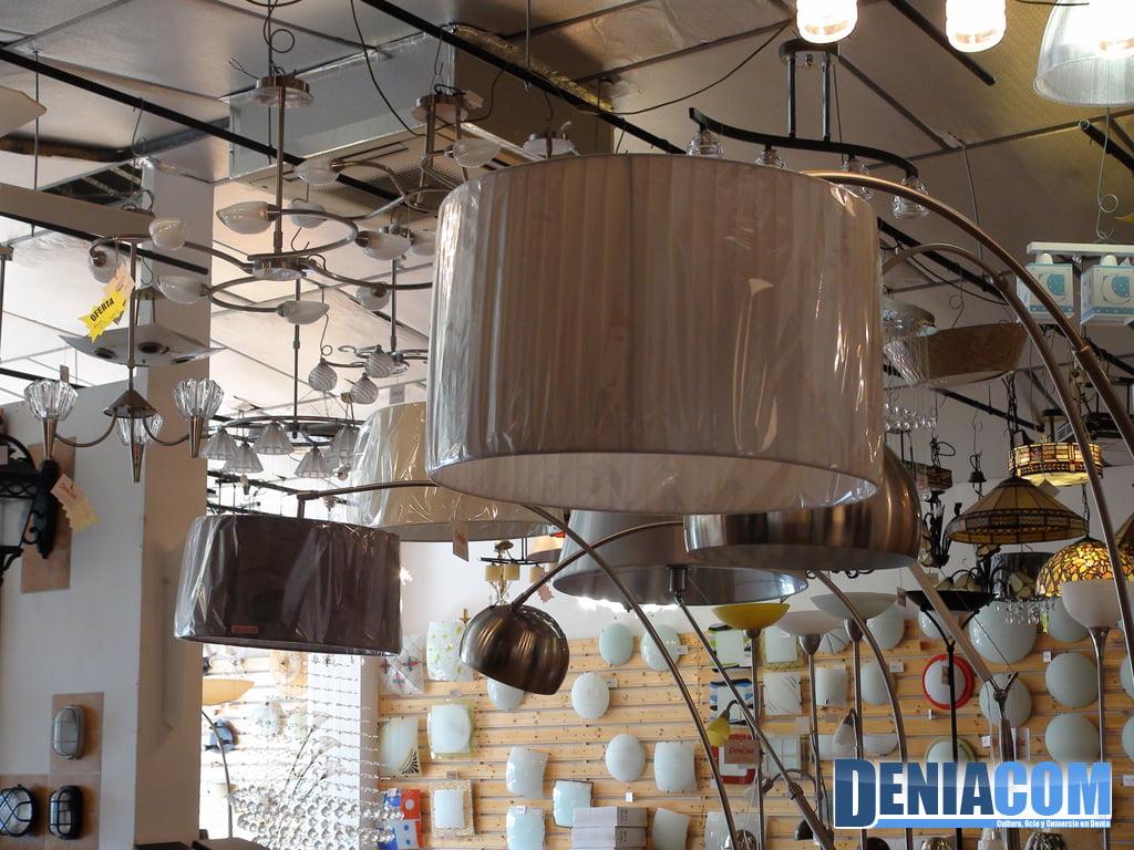 Deniluz tienda de lámparas en Dénia - Dénia.com