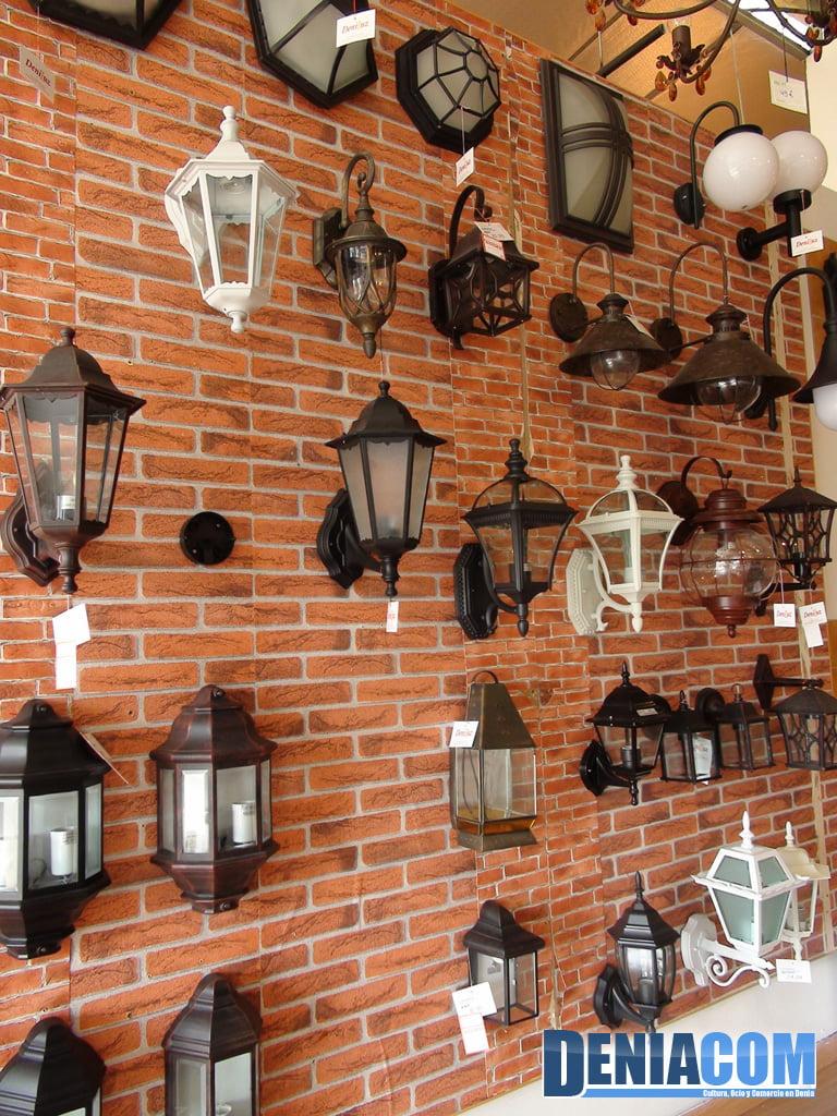 Faroles de exterior en deniluz d for Faroles para iluminacion exterior