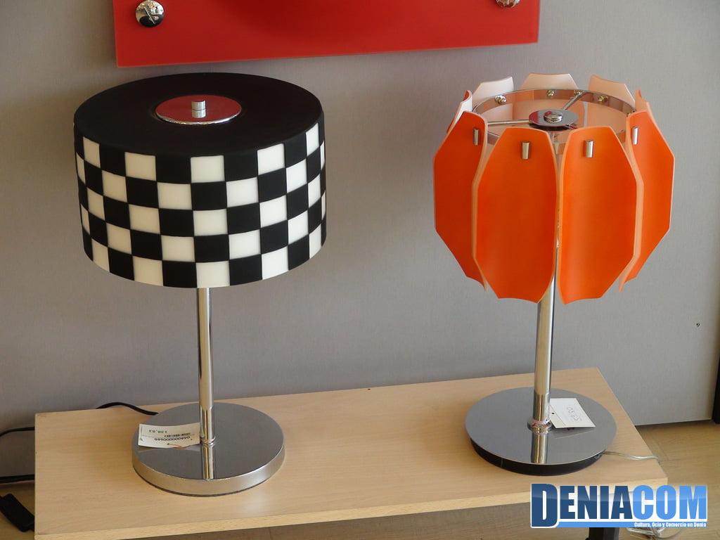 L mparas de mesa muy originales en deniluz d - Lamparas decorativas de mesa ...