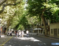 Centro de Dénia peatonal