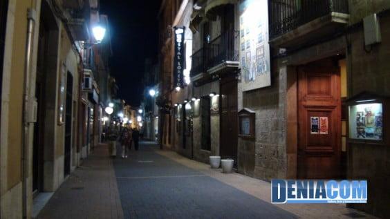 Calle Loreto de Dénia