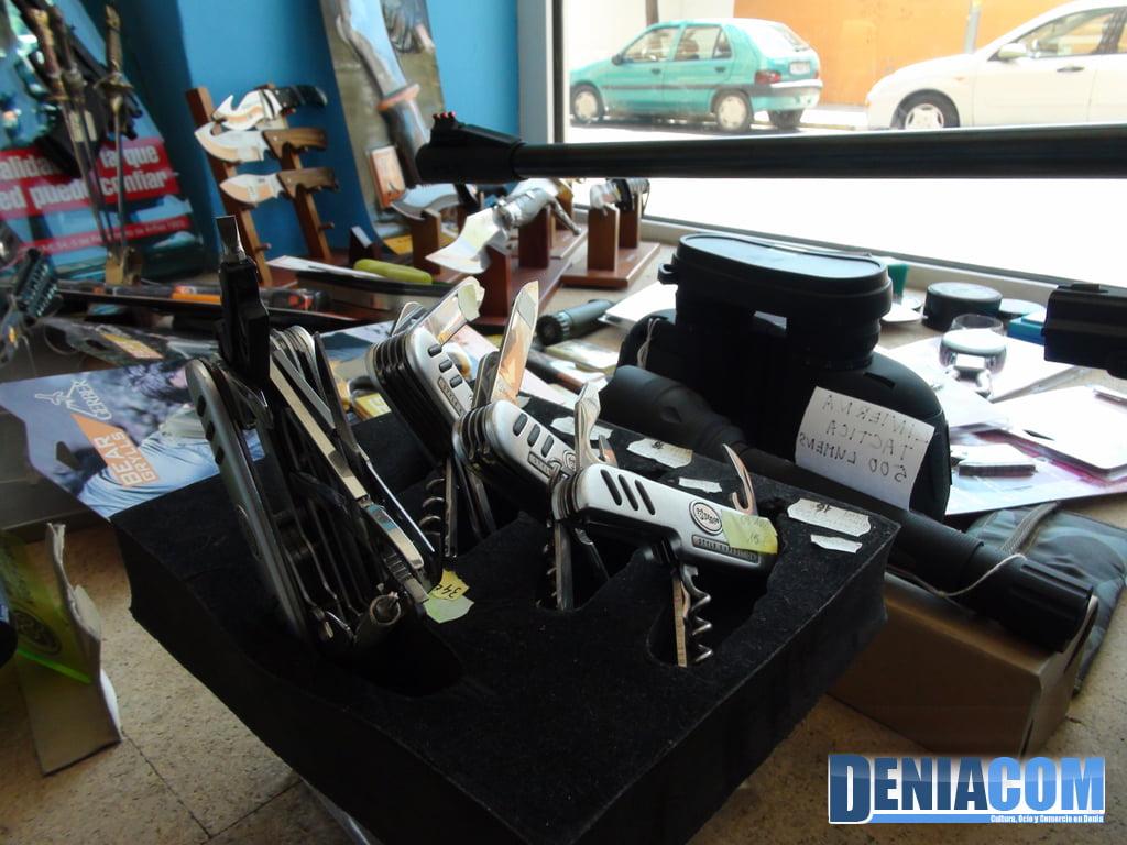 Cuchillería en Dénia – Pescamar