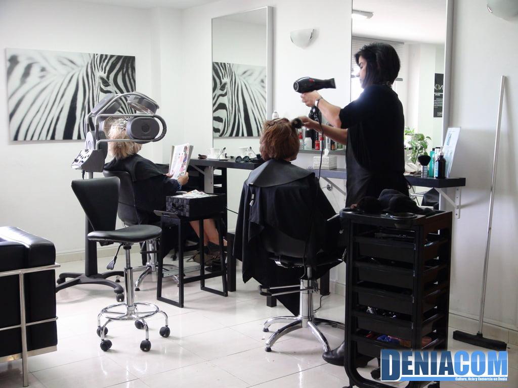 D nia centro de fitness peluquer a d - Ideas para decorar una peluqueria ...