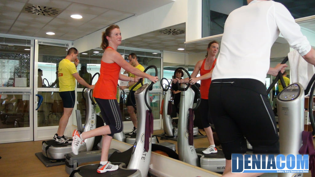 d nia centro de fitness power plate d