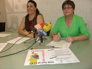 Festival Llunàtics - Isabel Gallego y Estefania Fernández